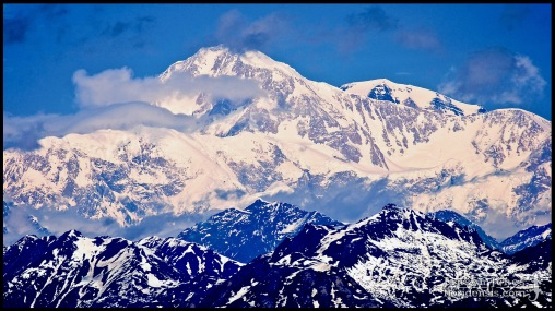 Denali (elevation 20,327 feet), photographed in Matanuska-Susitna Borough, Alaska (31 May 2011). Day 01 of the 2011 Roadtrip from Alaska to Florida (Mile 0134 of 7221).