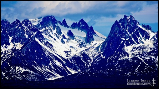 Moose's Tooth (elevation 10,335 feet), photographed in Matanuska-Susitna Borough, Alaska (31 May 2011). Day 01 of the 2011 Roadtrip from Alaska to Florida (Mile 0134 of 7221).