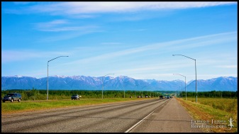 The Glenn Highway, photographed in Matanuska-Susitna Borough, Alaska (31 May 2011). Day 01 of the 2011 Roadtrip from Alaska to Florida (Mile 20 of 7221).