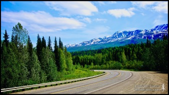 The Parks Highway, photographed in Matanuska-Susitna Borough, Alaska (31 May 2011). Day 01 of the 2011 Roadtrip from Alaska to Florida (Mile 0140 of 7221).