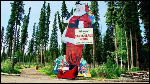 North Pole, photographed in Fairbanks North Star Borough, Alaska (01 June 2011). Day 02 of the 2011 Roadtrip from Alaska to Florida (Mile 0426 of 7221).